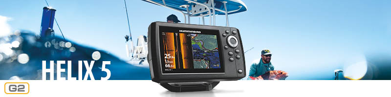 Humminbird Helix 5 header