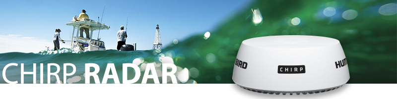 Humminbird Chirp-Radar